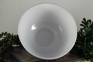 【フランス製ARCOPAL】ホワイトのカフェオレボウル