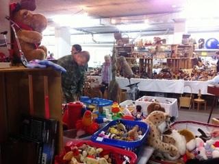 Reinachのフリーマーケット