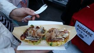 Street Food Festival Basel お好み焼き